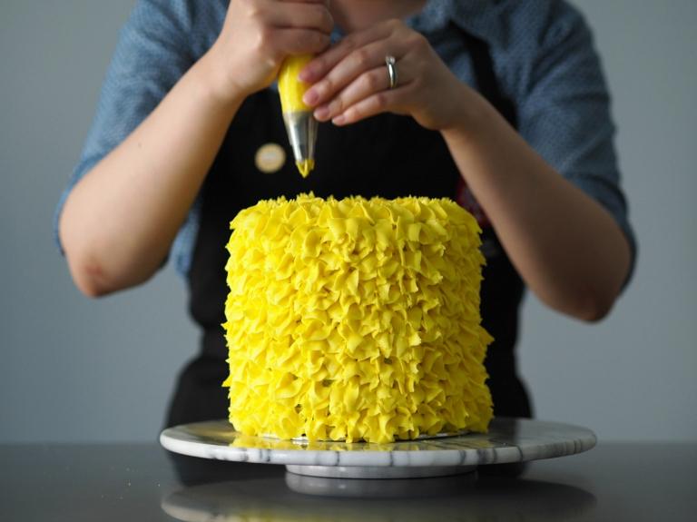 Pineapple Birthday Cake