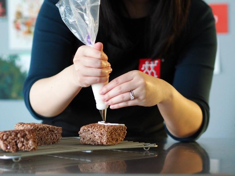 Chocolate Rice Krispie Squares