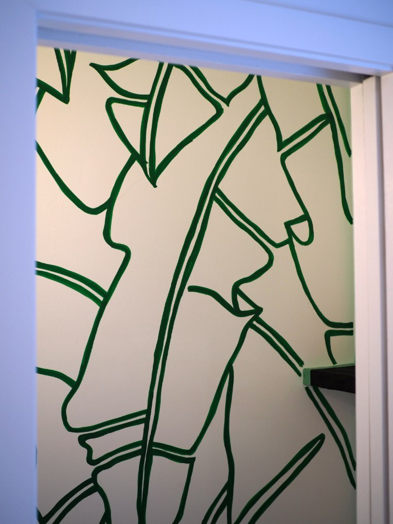 Banana Leaves Mural