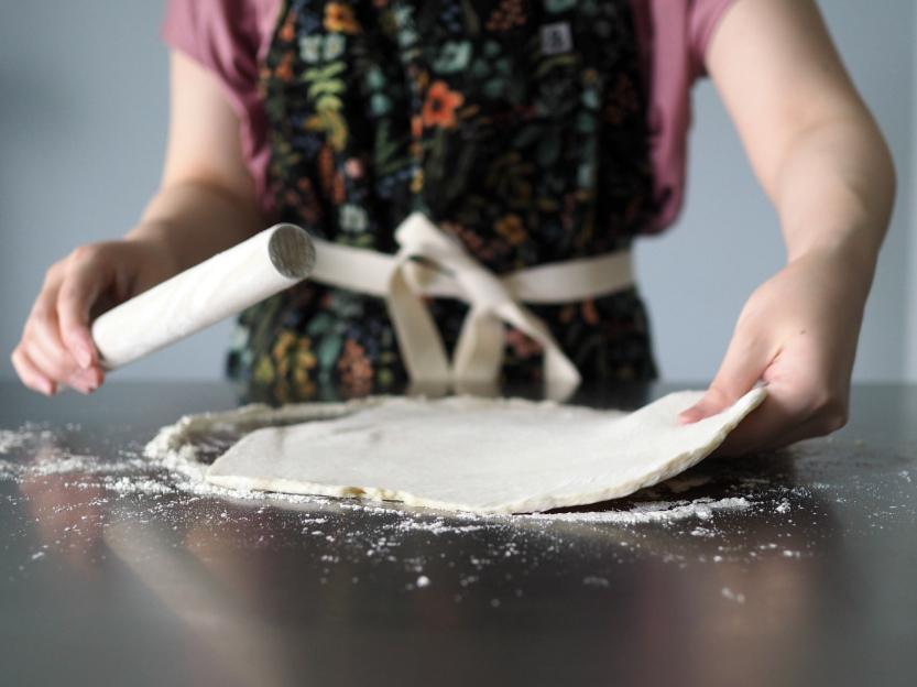skillet streusel pie